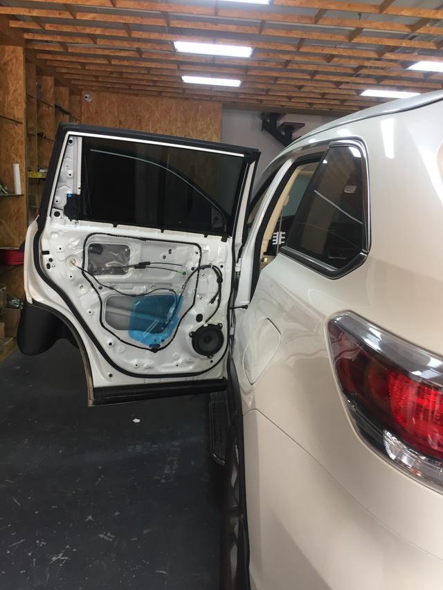 丰田汉兰达汽车音响改装美国cdt 入门级三分频
